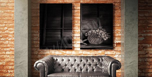 Image nature noir et blanc