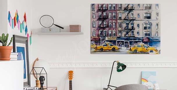 Image New York aquarelle