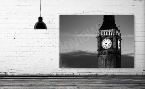 Image noir et blanc Big Ben