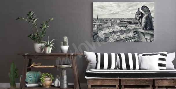 Image noir et blanc Paris