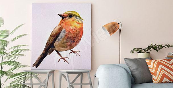 Image oiseau aquarelle