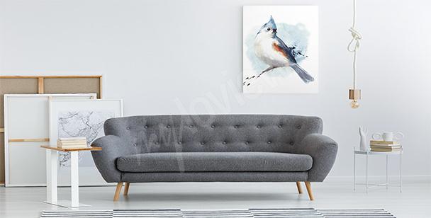 Image oiseau bleu