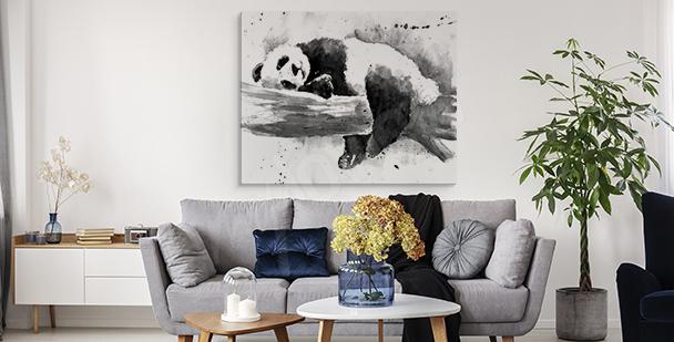 Image panda endormi