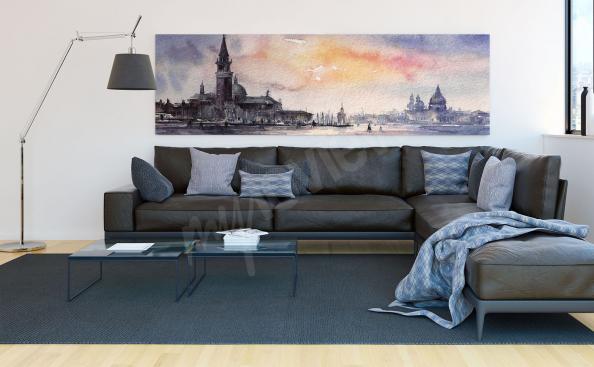 Image panorama de Venise