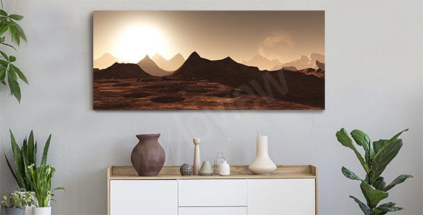 Image panoramique pour une entrée