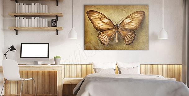 Image papillon pour chambre à coucher