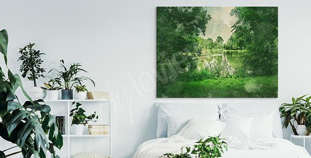 Image parc vert