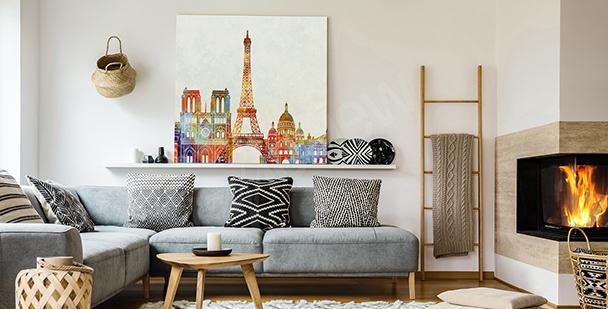 Image Paris et aquarelle