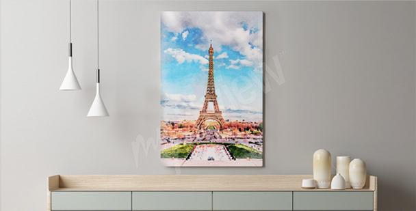 Image Paris Pastel