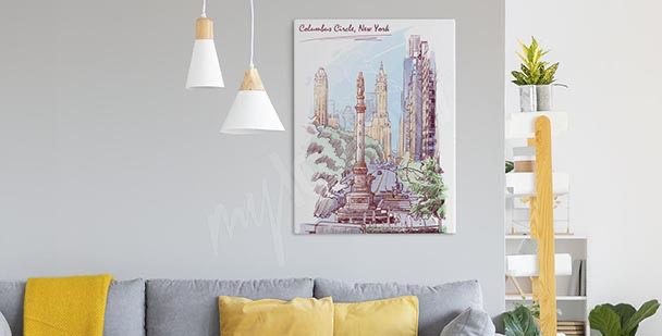 Image pastel New York
