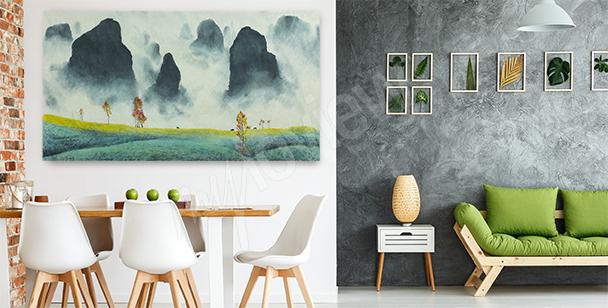 Image paysage pour salon