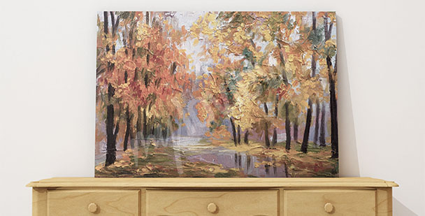 Image paysage d'automne