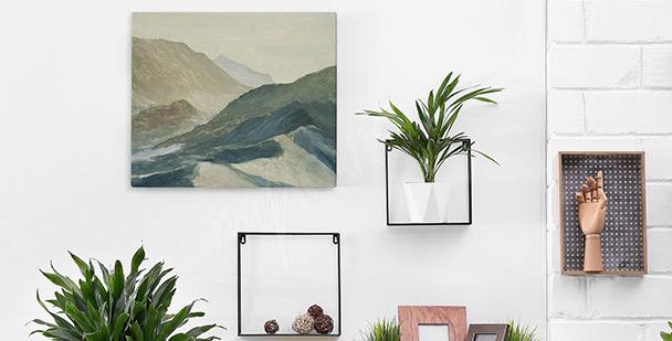 Image paysage montagneux