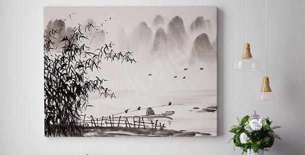 Image paysage oriental