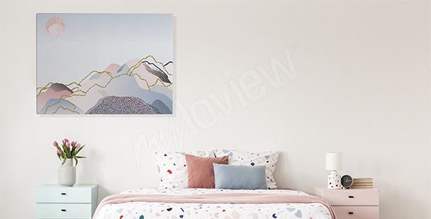 Image chambre à coucher orchidée