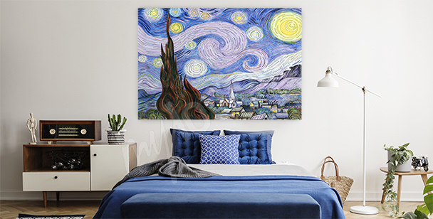Image paysage Van Gogh