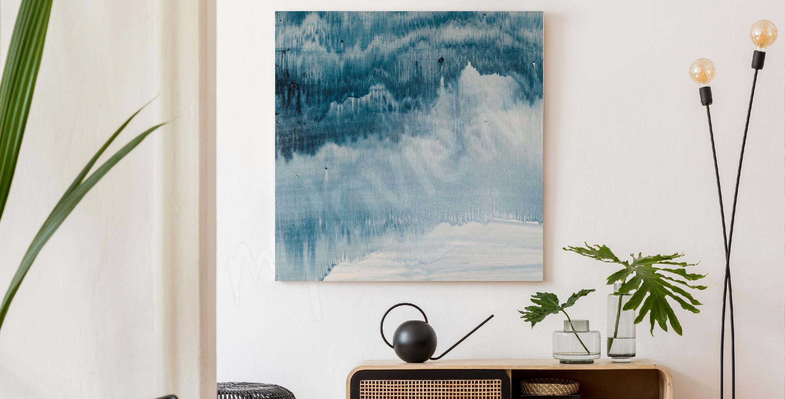 Image peinture abstraite