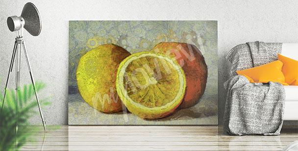 Image peinture – fruits