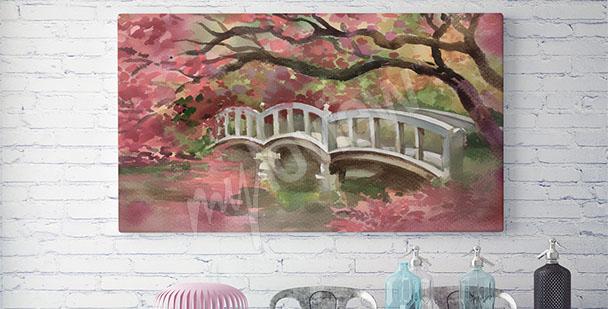 Image petit pont romantique