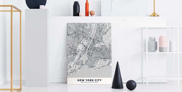 Image plan de la ville de New York