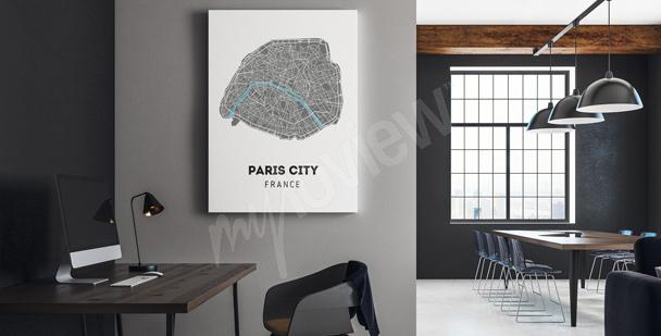 Image plan de ville