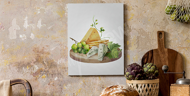 Image plateau de fromage