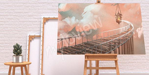 Image pont dans les nuages
