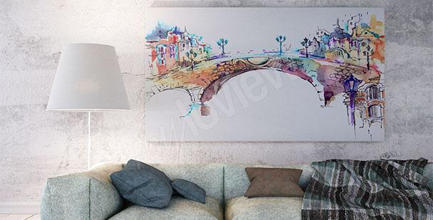 Image pont de couleurs