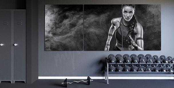 Image Portrait d'une joggeuse