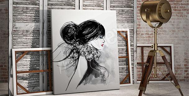 Image portrait pour salon