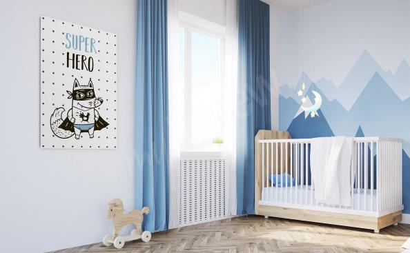 Image pour chambre de petit garçon