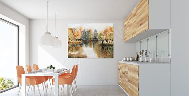 Image pour cuisine paysage