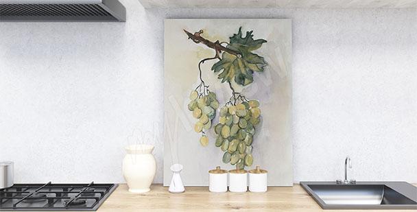 Image pour cuisine raisin