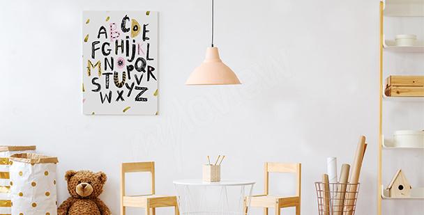 Image pour fille alphabet