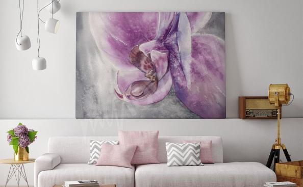 Image pour salon orchidée