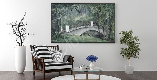 Image pour salon pont