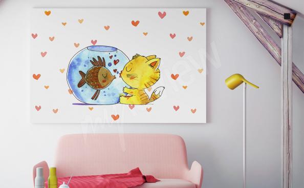 Image pour un enfant avec des animaux