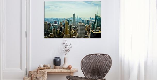 Image réaliste - ville de New York
