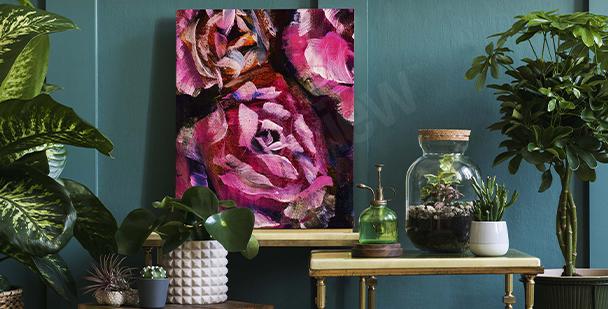 Image avec une rose