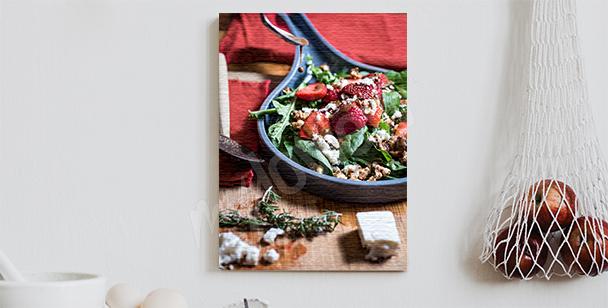 Image salade de fraises