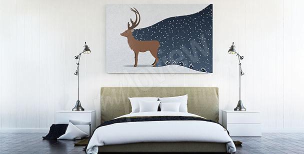 Image scandinave pour une chambre
