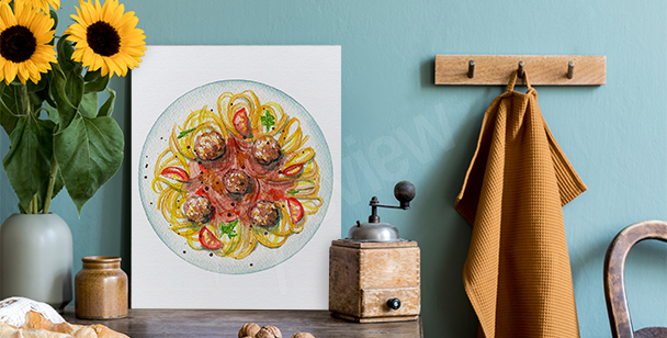 Image spaghettis