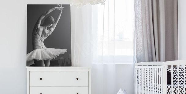 Image sport en noir et blanc