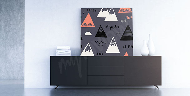 Image style scandi: montagnes