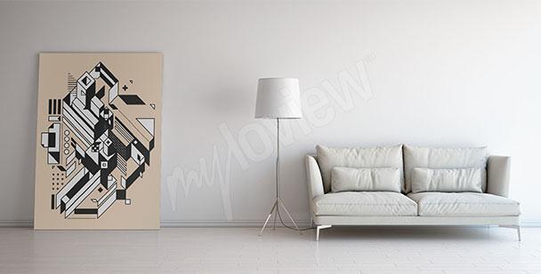 Image style scandi pour salon
