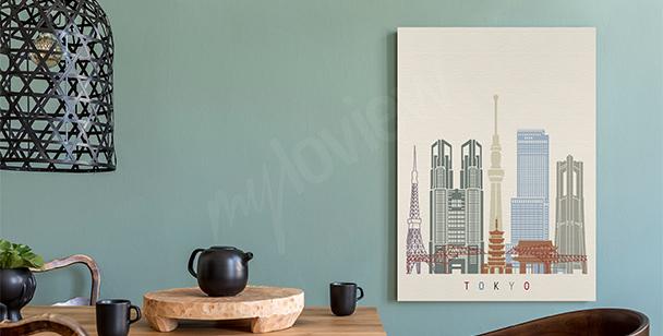 Image Tokyo et gratte-ciels