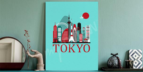 Image Tokyo et panorama de ville