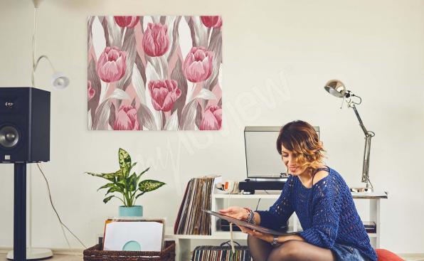 Image tulipes aquarelle