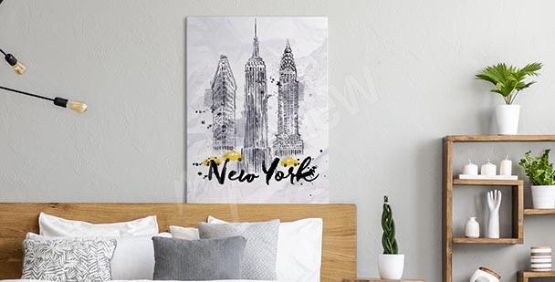Image typographique New York