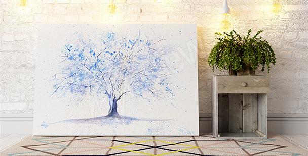 Image un arbre en hiver